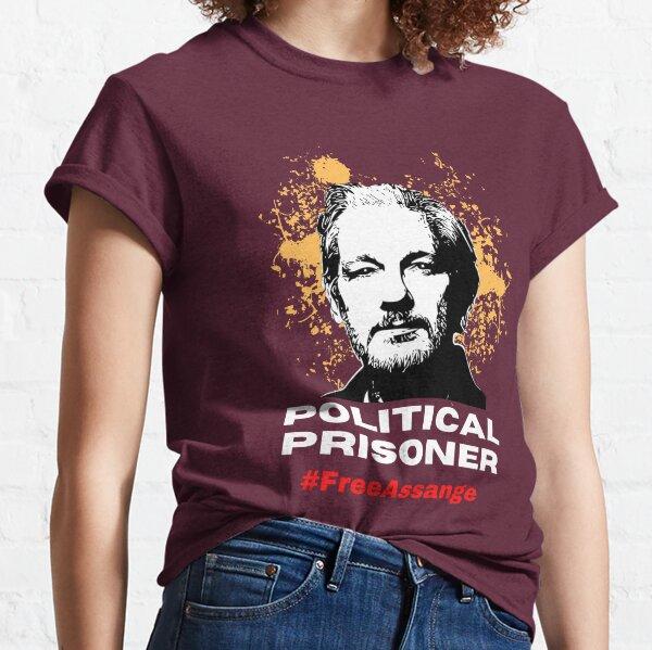 Political prisoner free assange Classic T-Shirt