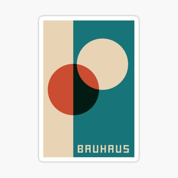 Bauhaus #30 Sticker