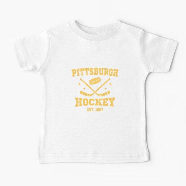 Pittsburgh Hockey Est. 1967 Baby T-Shirt