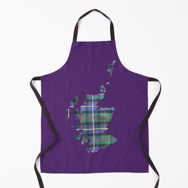Map of Scotland in MacLeod of Harris Ancient  Apron