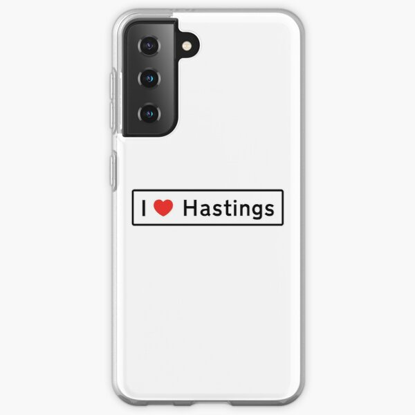 I Love Hastings! Samsung Galaxy Soft Case