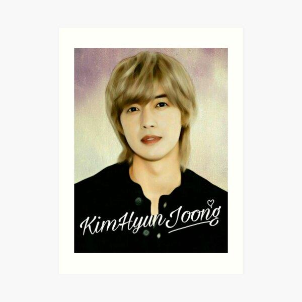 Retrato de Kim Hyun joong Lámina artística
