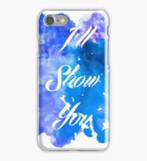 I'll Show You - Justin Bieber inspired White iPhone Case/Skin