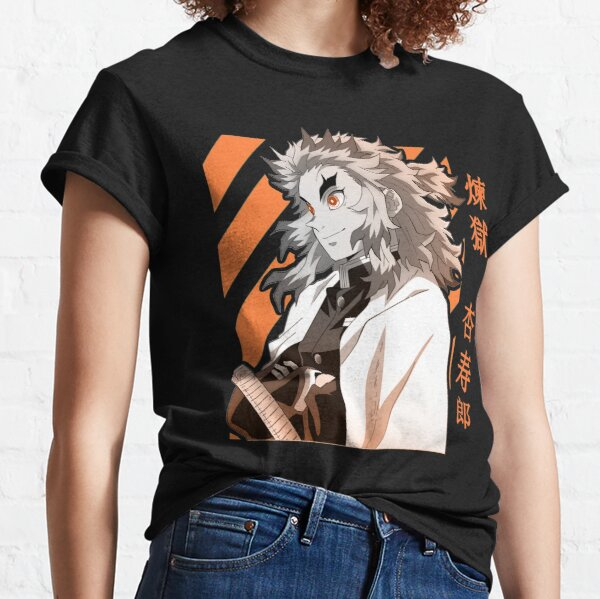 Kyojuro Rengoku Demon Slayer Kimetsu No Yaiba Design Classic T-Shirt