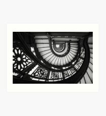 Rookery Staircase Art Print