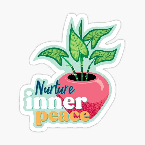 Nurture Inner Peace  Sticker