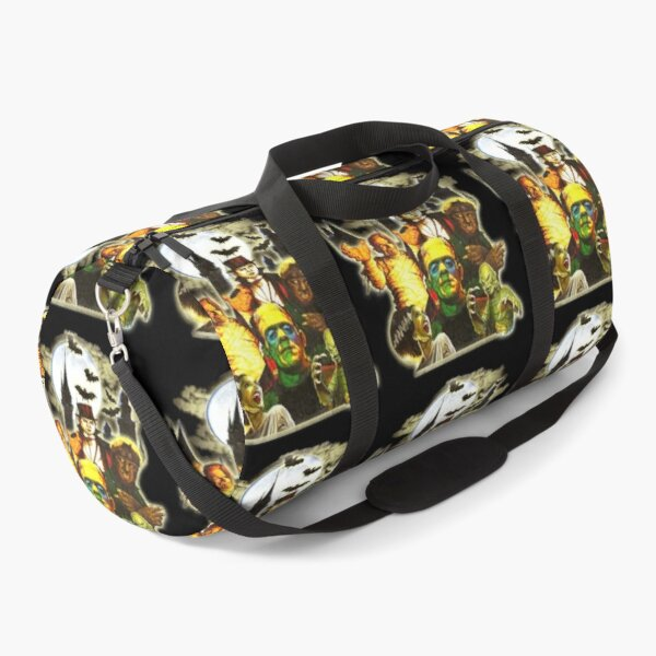 Universal Monsters Collage Classic Movie Duffle Bag