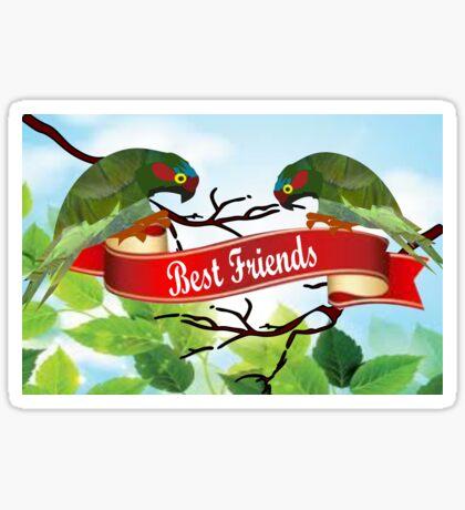 Best Friends (2548 views) Sticker