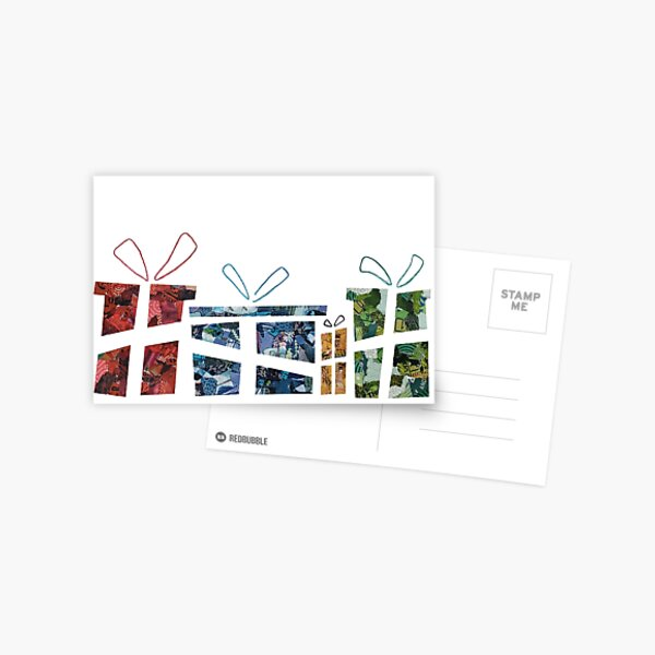 Christmas Gifts - Christmas Collection Postcard