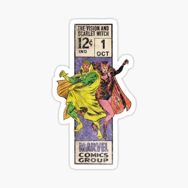 Retro Corner Box - Vision Witch Sticker