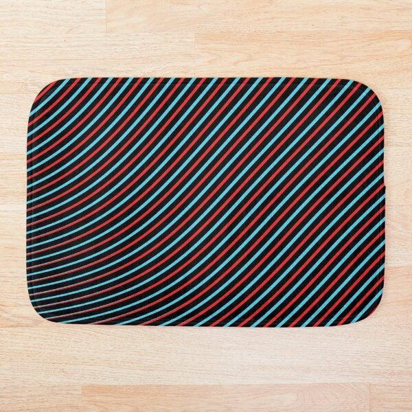 Dark Optical Eye Trip Illusion Bath Mat