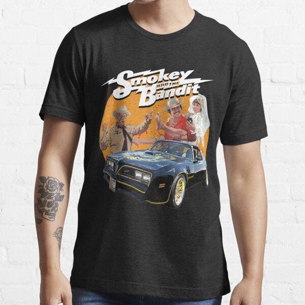 Smokey And Bandit T Shirt Retro Movie Burt Trans Am Comedy Men Black Tee Shirt