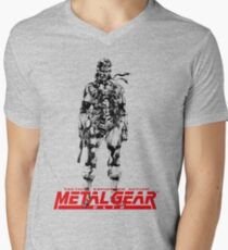Metal Gear Solid Men's V-Neck T-Shirt