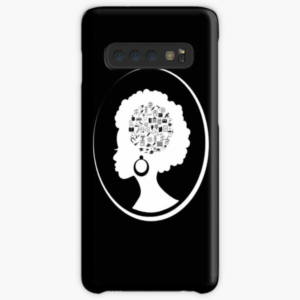 Science on the Afro (White) Samsung Galaxy Snap Case