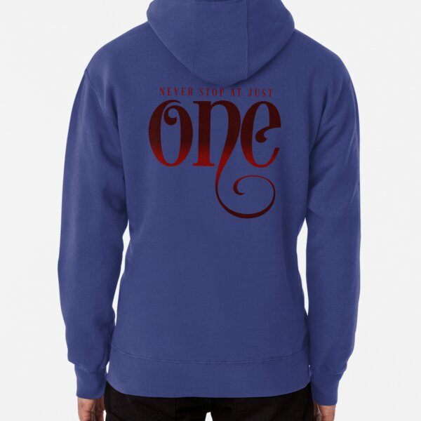 Never Stop At Just One (Red) Pullover Hoodie