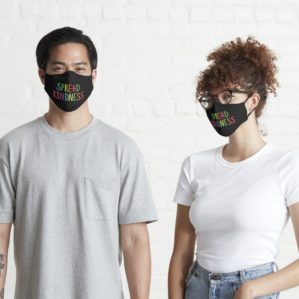 Spread Kindness Anti Bully Teacher Student Awareness Mask