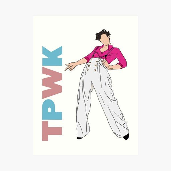 Harry Styles TPWK Art Print