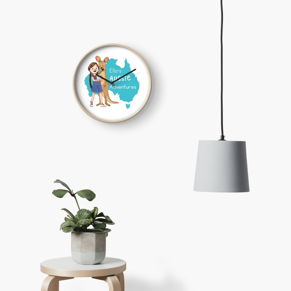Ella's Aussie Adventures Clock