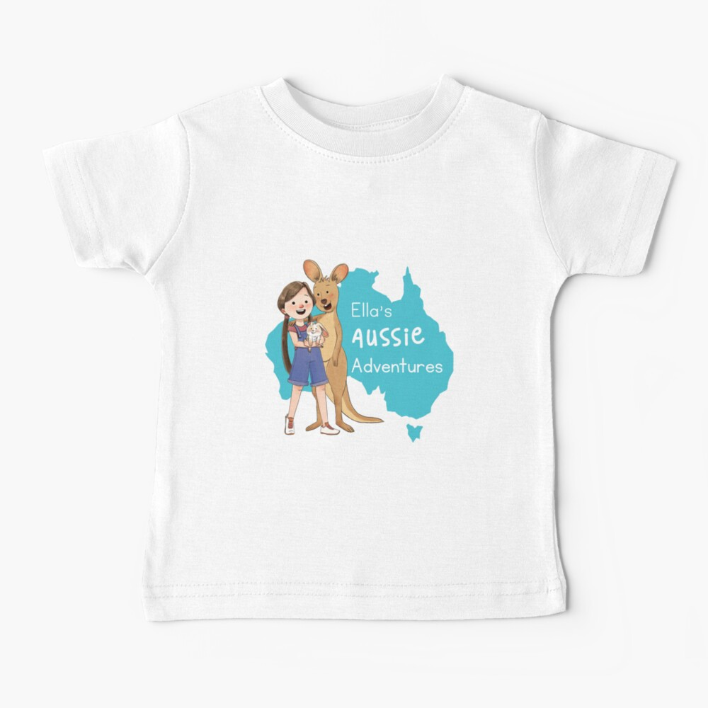Ella's Aussie Adventures Baby T-Shirt