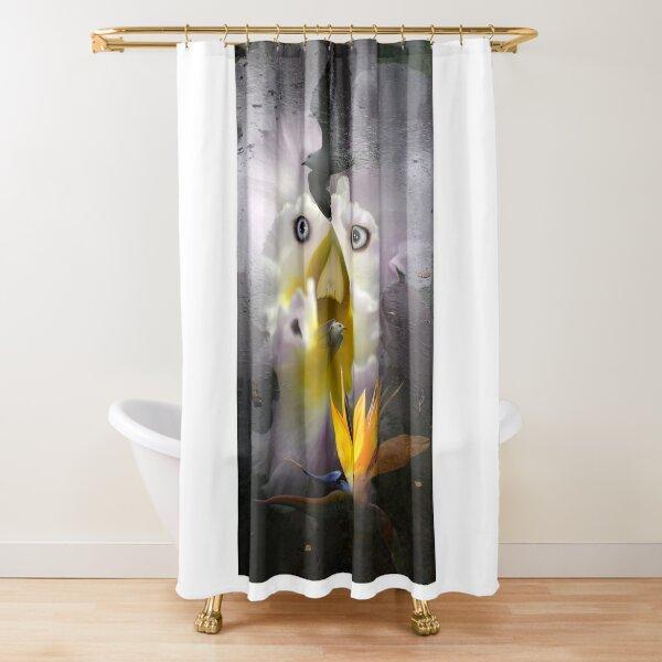 The Flight Shower Curtain