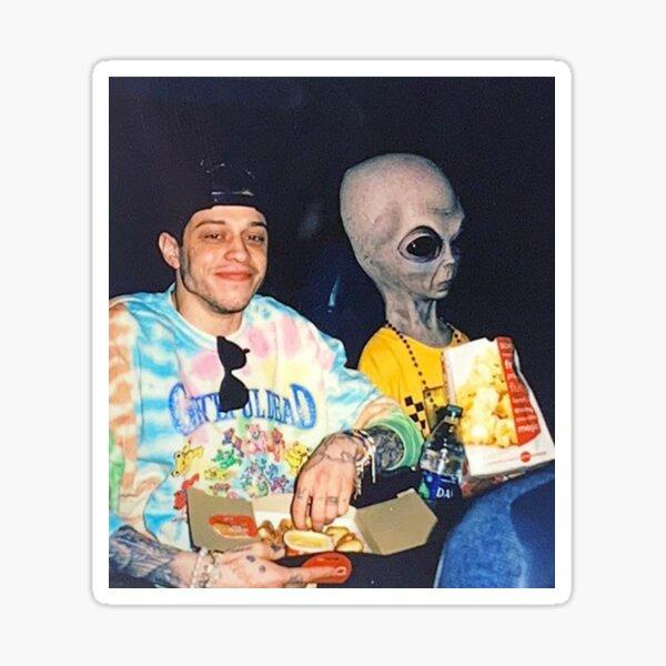 pete davidson alien Sticker