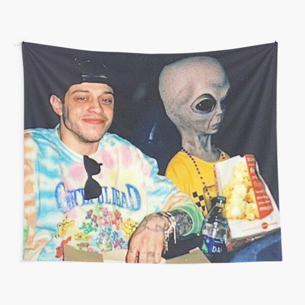 pete davidson alien tapestry Tapestry