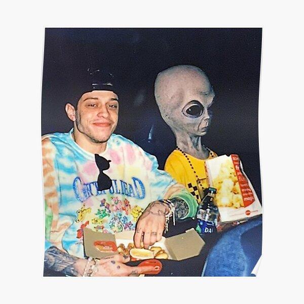 pete davidson alien tapestry Poster