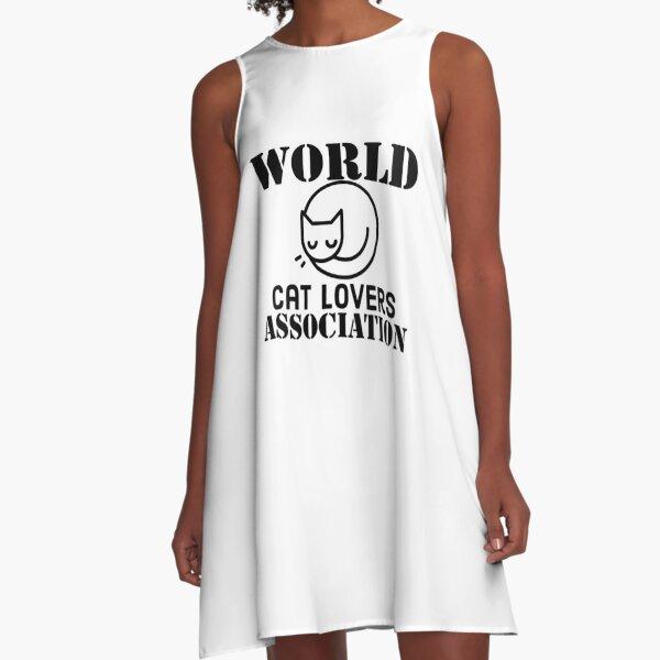 World Cat Lovers Association A-Line Dress