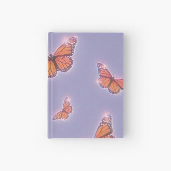 Retro Y2K Butterflies Aesthetic Hardcover Journal