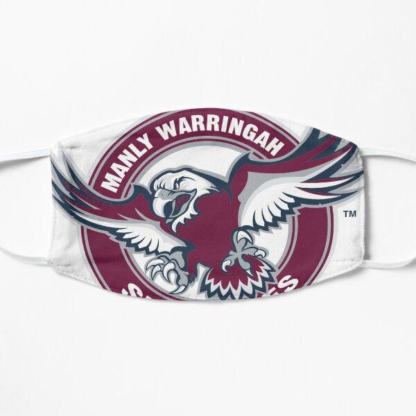 Manly Warringah Sea Eagles Flat Mask