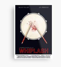 Whiplash film poster Metal Print