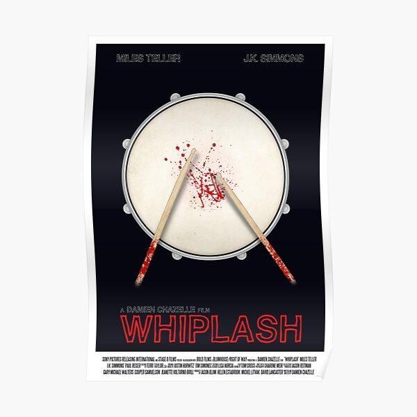 Whiplash film poster Poster