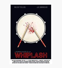 Whiplash film poster Photographic Print