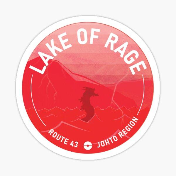 Lake of Rage! Sticker