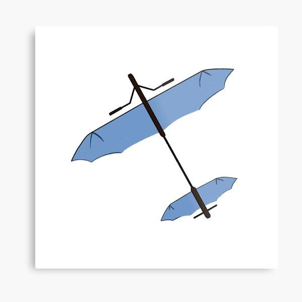 Korra's Glider Metal Print