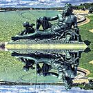 The Garonne Bronze Statue Versailles Paris France Sculpture by Beverly Claire Kaiya