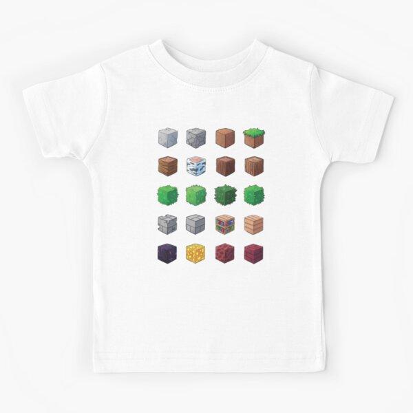 Miner Blocks Essential Kids T-Shirt