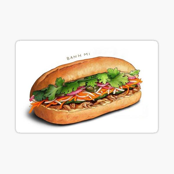Bánh Mì (Vietnamese Sandwich) Sticker