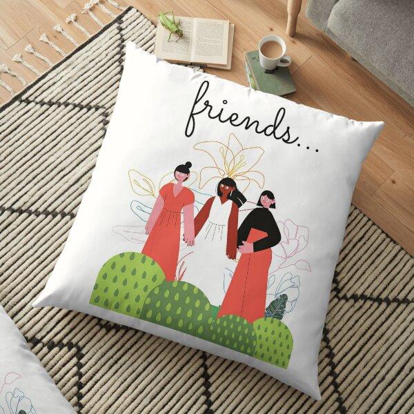 Friends Floor Pillow