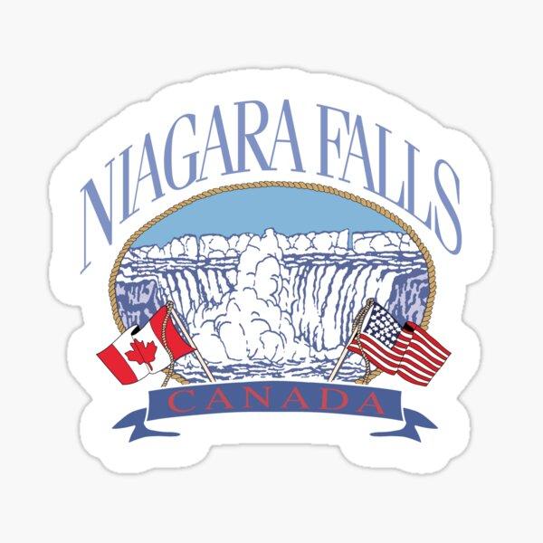 niagara falls canada sticker stickers brandy Sticker