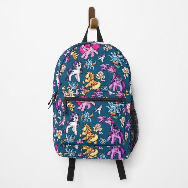 Patterned Ponies Backpack