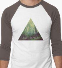 road less traveled nature explore travel redwood book wanderlust print T-Shirt