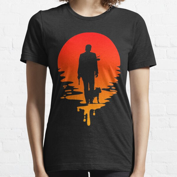 J.Wick Sunset T-Shirt Essential T-Shirt