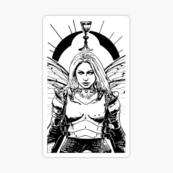 Knight of Cups Sticker