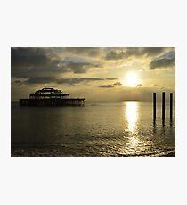 The West Pier Photographic Print