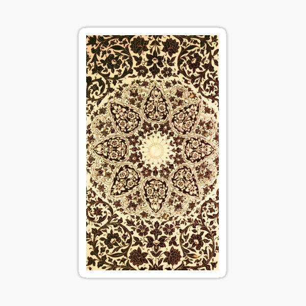 Ornaments of Islamic Arts Sticker