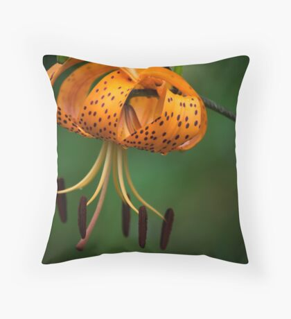 Tiger Lilly disguised as a Leopard Lilly Throw Pillow