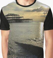 West Pier Brighton Graphic T-Shirt