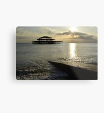 West Pier Brighton Metal Print