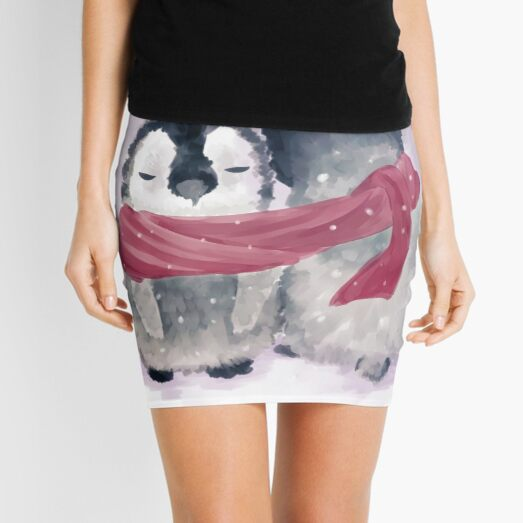 Penguin Cuddle Mini Skirt